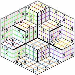 Pics Photos - What S In The Pack 3d Sudoku Cube
