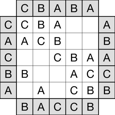 Buy Easy as ABC logic puzzles from Any Puzzle Media