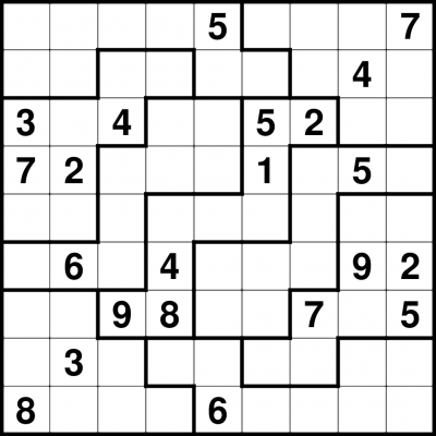 Resource image for jigsaw sudoku printable