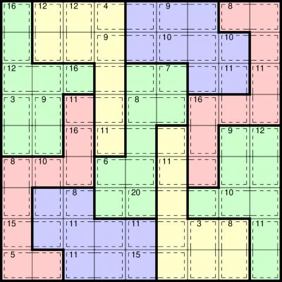 Buy Killer Jigsaw Sudoku logic puzzles from Any Puzzle Media