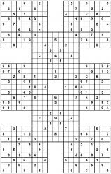Sudoku samurai gattai 5