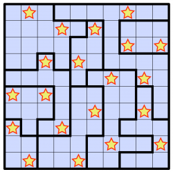 Solution Star battle