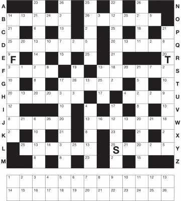 codeword exle sc 1 st any puzzle media