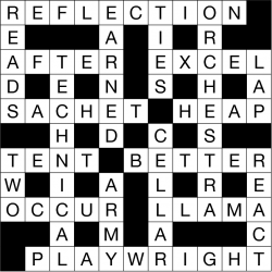 Quick Crossword solution