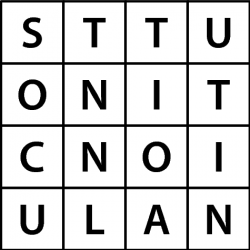 Large Word Square