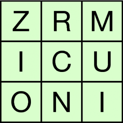 Word Square example