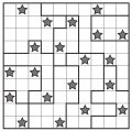 Star Battle puzzles